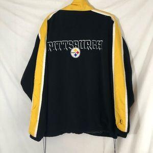 Pittsburg Steelers NFL full zip jacket XXL